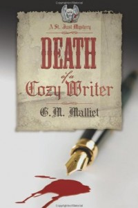 Death of a Cozy Writer (A St. Just Mystery)
