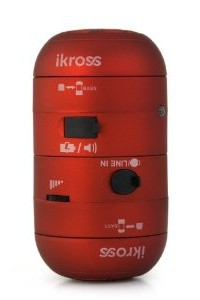 iKross Red 3.5mm Portable Mini Stereo Speakers for Kindle Touch 3G, Kindle Fire