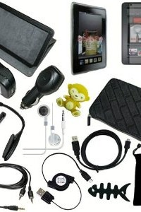 15-Item Accessory Bundle for New Amazon Kindle Fire