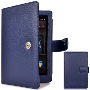 CaseCrown Regal Flip Horizontal Case (Blue) for Amazon Kindle Fire Tablet