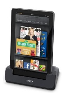 RND Power Solutions Deluxe Data Sync Cradle / Desktop Dock Station for Kindle Fire