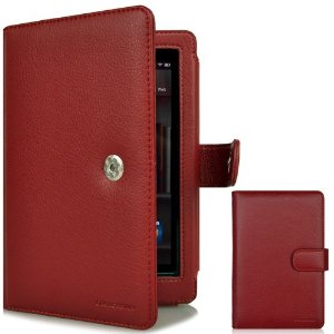 CaseCrown Regal Flip Horizontal Case (Red) for Amazon Kindle Fire Tablet