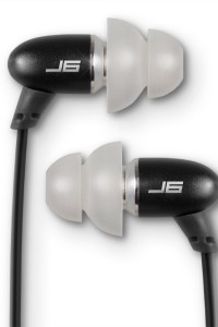 JBuds J6 High Fidelity Ergonomic Earbuds Style Headphones (Nero Black)