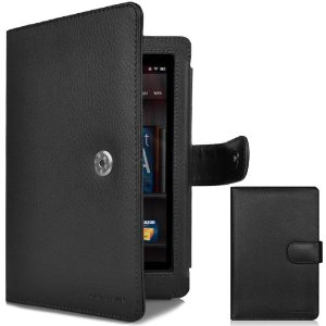 CaseCrown Regal Flip Horizontal Case (Black) for Amazon Kindle Fire Tablet