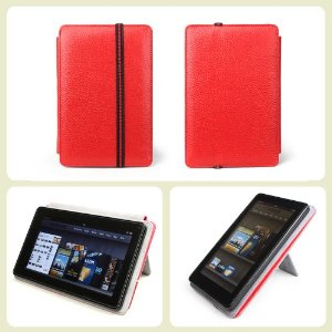 Accessorise Frameless Dual-View 100 Percent Premium Genuine Leather Folio cover case