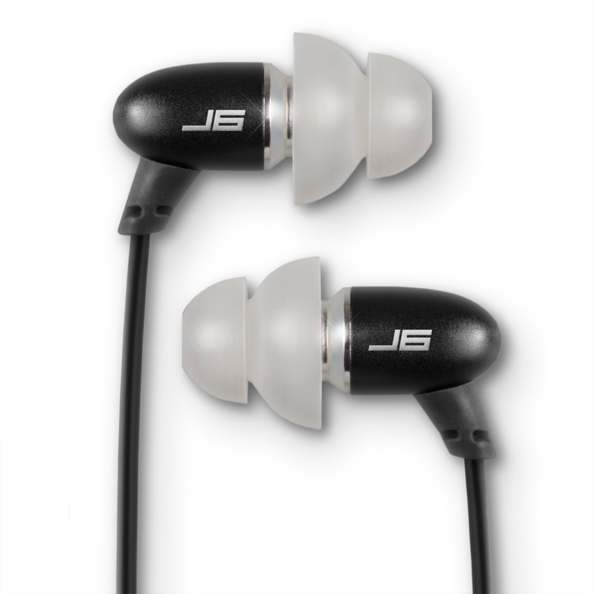 JBuds J6 High Fidelity Ergonomic Earbuds Style Headphones