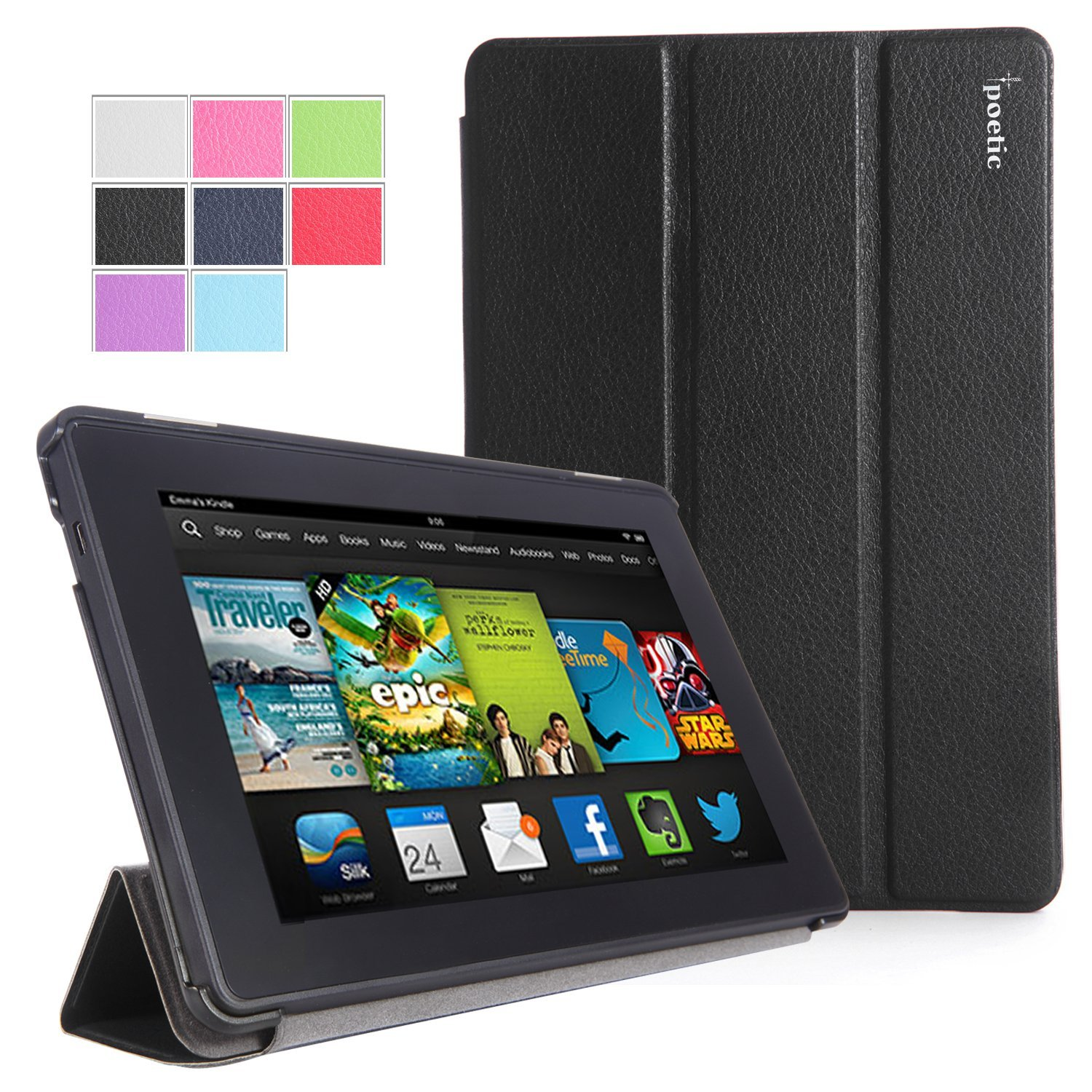 Poetic Slimline Case for All New Kindle Fire HD