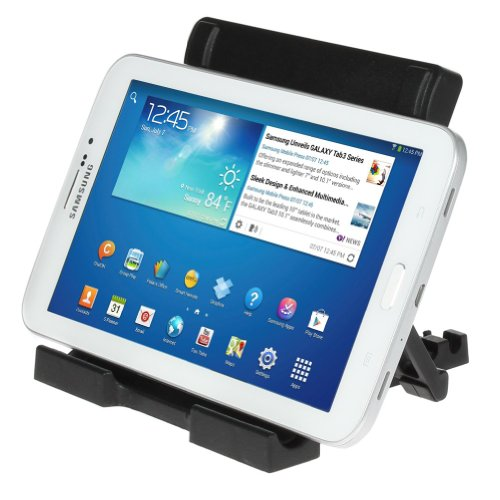ikross Black Tablet Portable Collapsible Desk Stand holder
