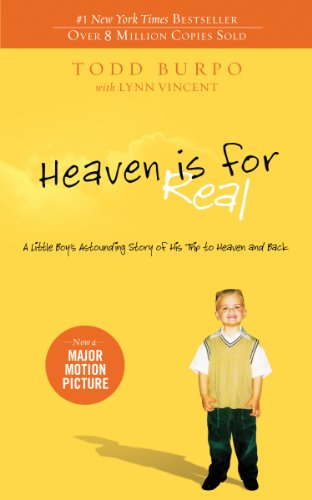 Pixelscroll: Free & Bargain eBooks, Apps, Music, Movies And more! -- A HotZippy Website: Today's Readers for Tomorrow's Bestsellers! © -- Pixelscroll proudly presents: Heaven is for Real: A Little Boy's Astounding Story of His Trip to Heaven and Back by Todd Burpo!