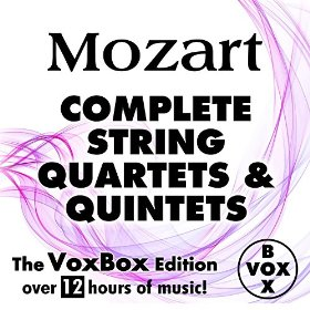 Mozart by Barchet Quartet & Emil Kessinger
