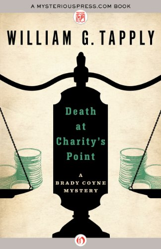 Death at Charity's Point (The Brady Coyne Mysteries Book 1) by William G. Tapply