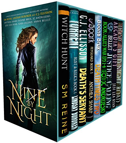 Nine by Night: A Multi-Author Urban Fantasy Bundle of Kickass Heroines, Adventure, & Magic by Various Authors