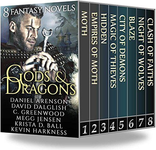 Gods & Dragons: 8 Fantasy Novels by Various Authors