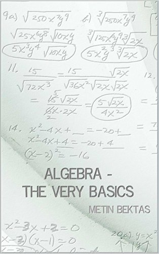 Algebra - The Very Basics by Metin Bektas