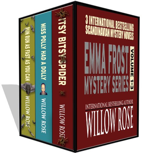 Emma Frost Mystery Series vol 1-3 by Willow Rose