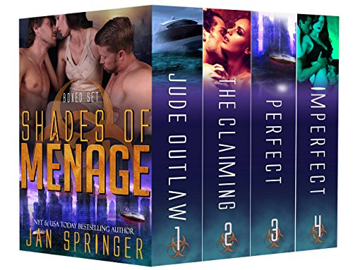 Shades of Ménage: A Ménage Romance Box Set Series:  Ultimate Four-Book Collection by Jan Springer