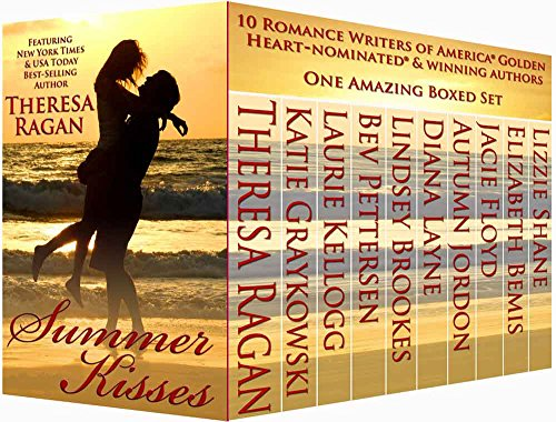 SUMMER KISSES: Ten Golden Heart © Authors Boxed Set by Various Authors
