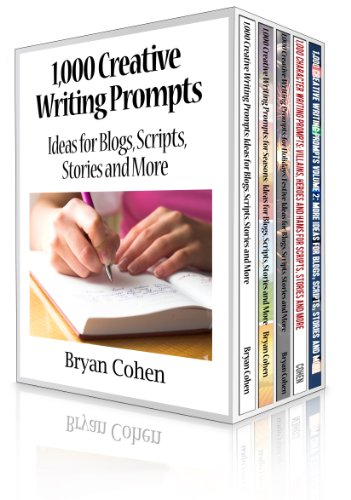 1,000 Creative Writing Prompts Box Set: Five Books, 5,000 Prompts to Beat Writer's Block by Bryan Cohen