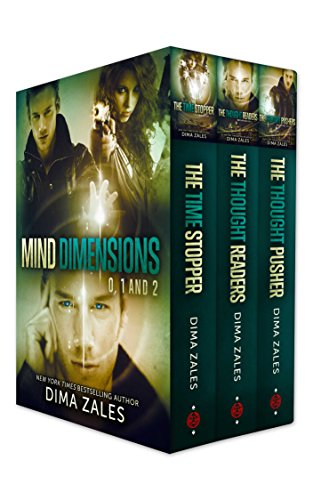 Mind Dimensions Books 0, 1, & 2 by Dima Zales