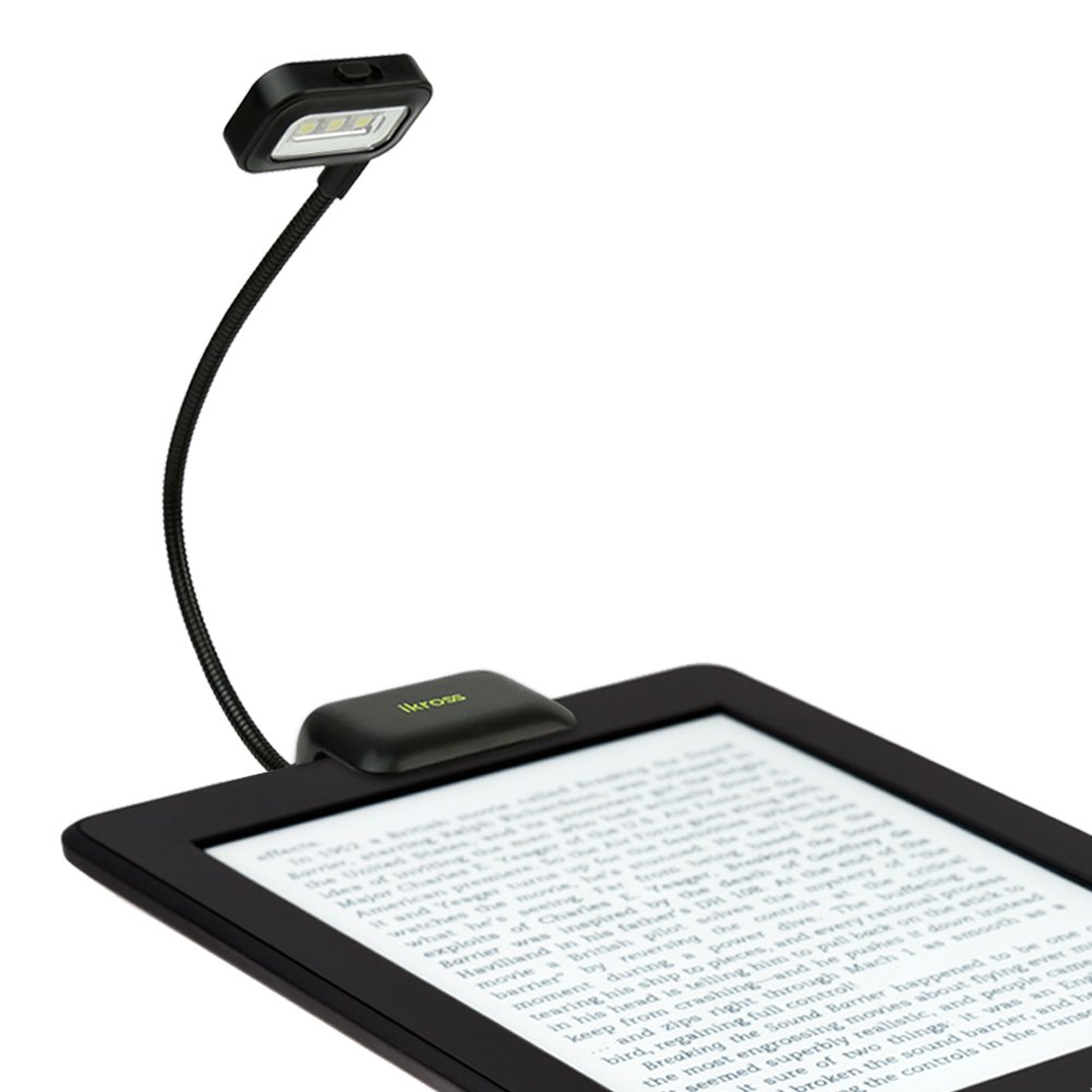 Clip-On Reading Light for eBook Readers