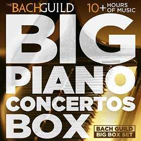 Big Piano Concertos Box by Various artists