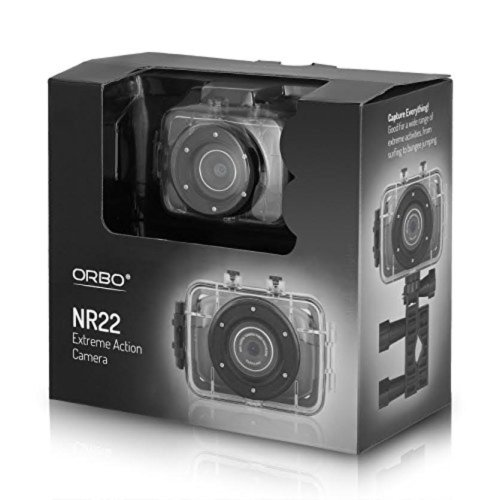 Orbo NR22 Extreme Sports Action Camera HD Video 4x Digital Zoom Camcorder