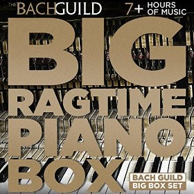Big Ragtime Piano Box By Various Artists