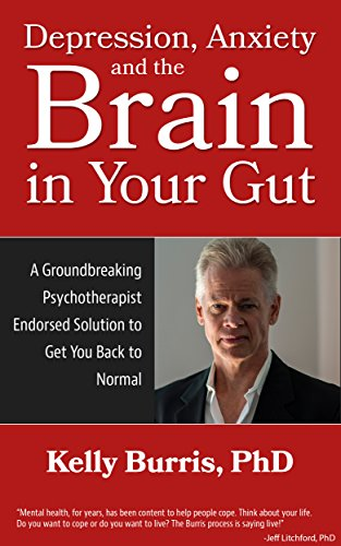 Depression Anxiety and the Brain in Your Gut: A Groundbreaking Psychotherapist Endorsed Solution to Get You Back to Normal by Kelly Burris
