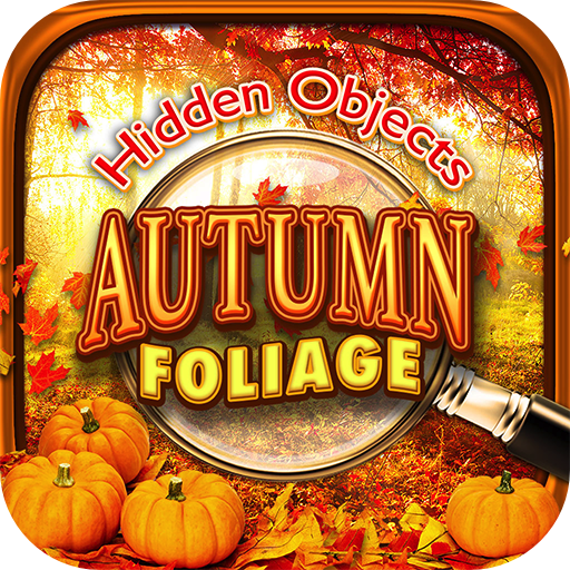 Hidden Objects Autumn Fall Foliage & Halloween Harvest Season