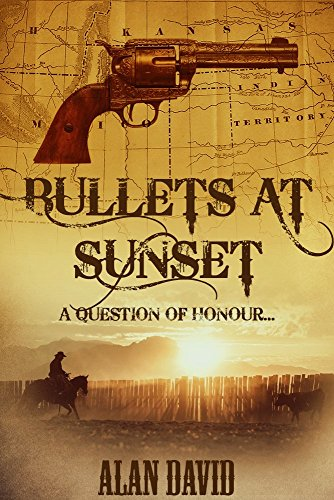 Bullets at Sunset by Alan David