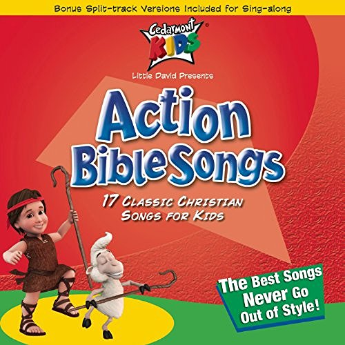Action Bible Songs By Cedarmont Kids