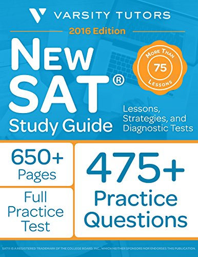New SAT Prep Study Guide: Lessons, Strategies, and Diagnostic Tests by Varsity Tutors