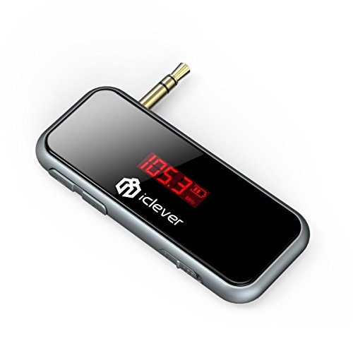 iClever Mini Universal In-Car Wireless FM Transmitter