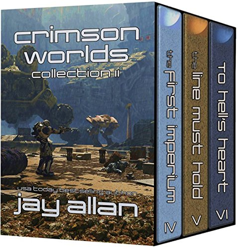 Crimson Worlds Collection II by Jay Allan