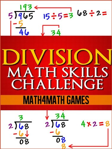 Division Math Skills Challenge (Math Challenge Series Book 1) by Math4Math Games