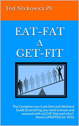 EAT-FAT ∆ GET-FIT: The Complete Low Carb Diet and Wellness Guide by Ted Neckowicz PE
