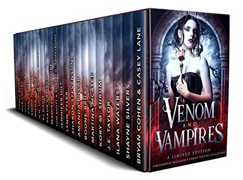Venom and Vampires by Boone Brux - Multi-Author Set