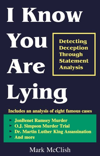 I Know You Are Lying by Mark McClish