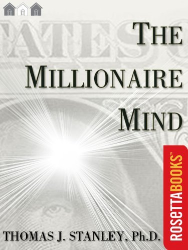 The Millionaire Mind (Millionaire Set) by Thomas J. Stanley Ph.D.
