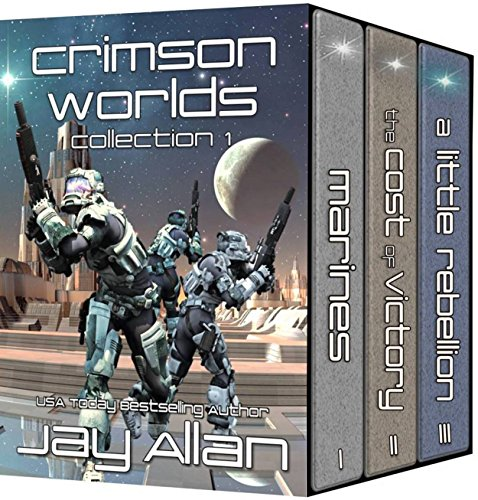 Crimson Worlds Collection 1 by Jay Allan
