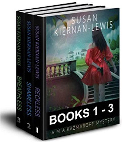 The Mia Kazmaroff Mysteries, 1-3 by Susan Kiernan-Lewis