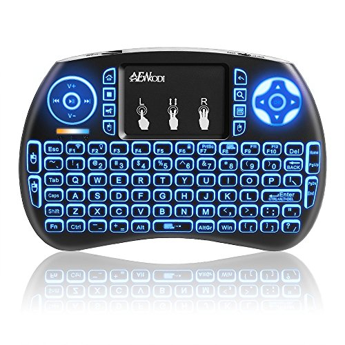Mini Backlit Keyboard USB Wireless Keyboard