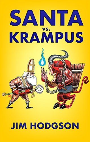 Santa vs. Krampus by Jim Hodgson