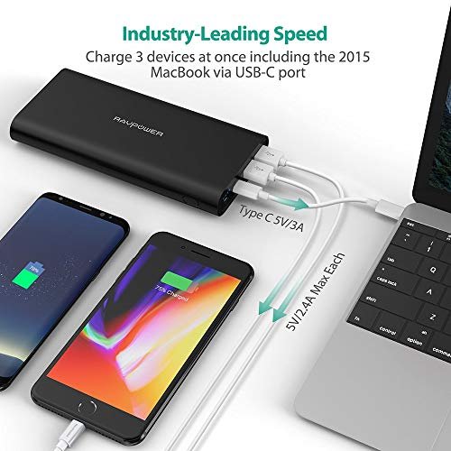 USB C Portable Charger RAVPower