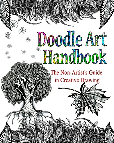DOODLE ART HANDBOOK: The Non-Artist's Guide in Creative Drawing by Lana Karr
