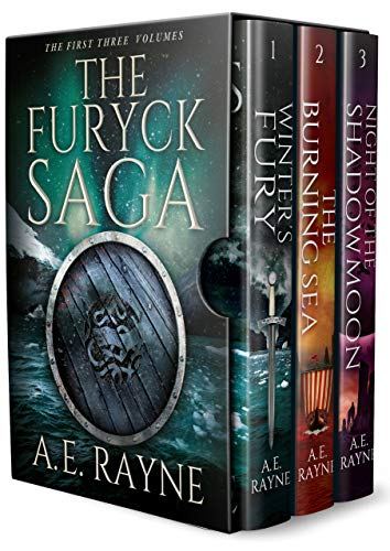 The Furyck Saga (Books 1-3) by A.E. Rayne