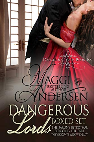 Dangerous Lords Boxed Set: Books 1 - 3 by Maggi Andersen