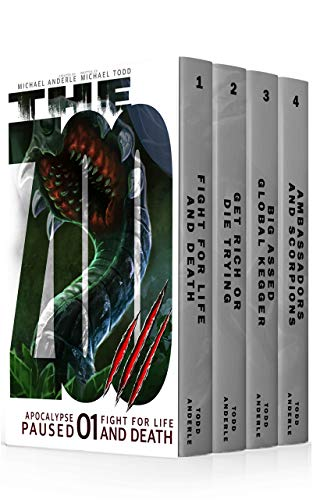 Apocalypse Paused Boxed Set One (Books 1-4) by Michael Todd