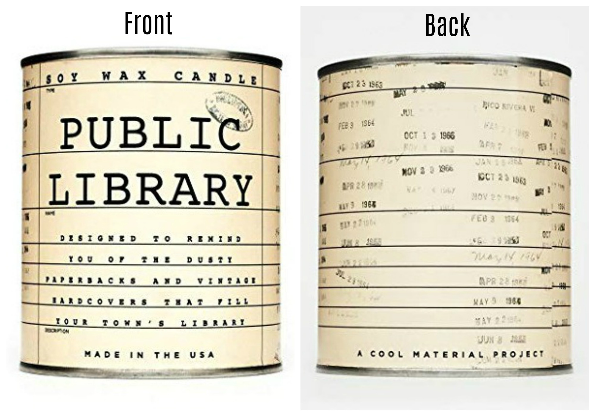 Public Library Candle