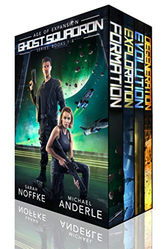 Ghost Squadron Boxed Set (Books 1-4) by Sarah Noffke